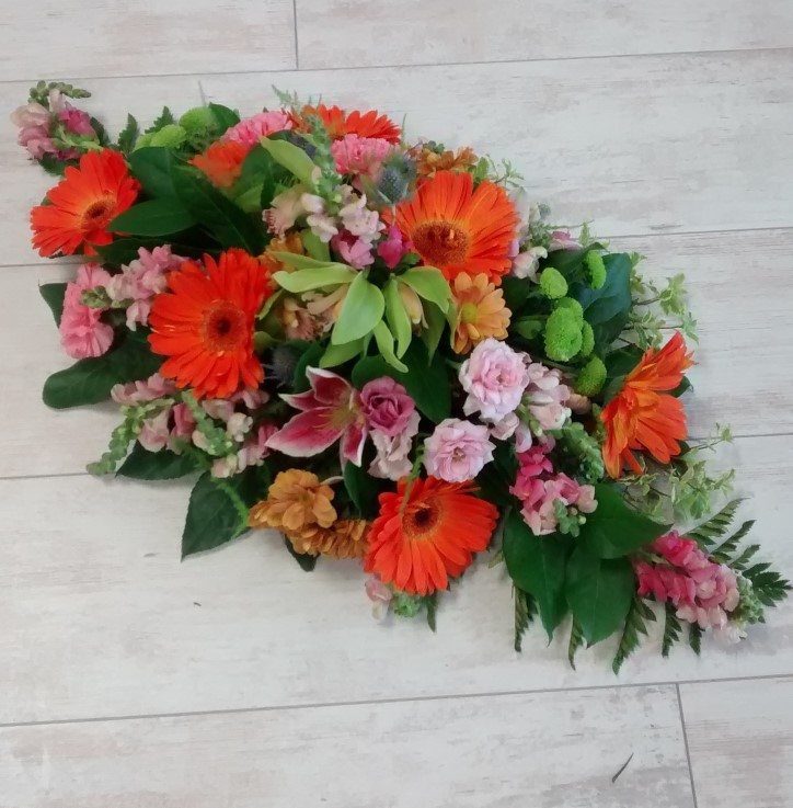 funeral spray fresh quality flowers wexford