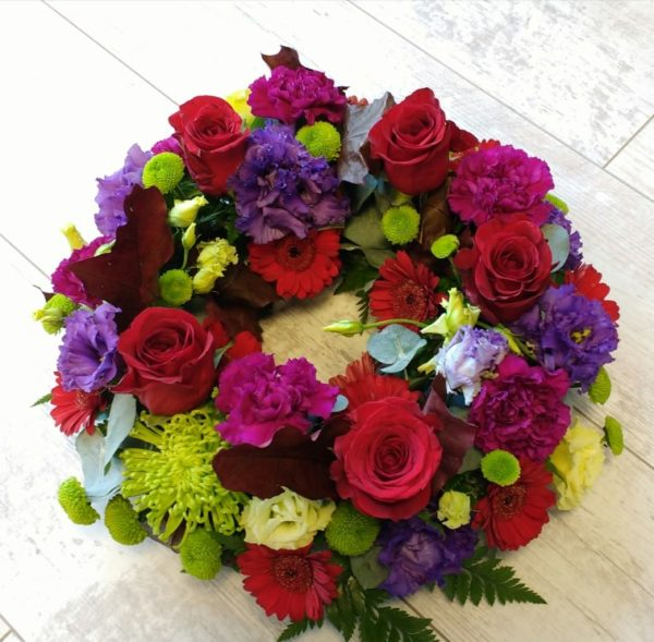 sending flowers for funeral in wexford