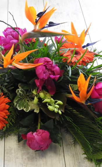 funeral flowers sheaf