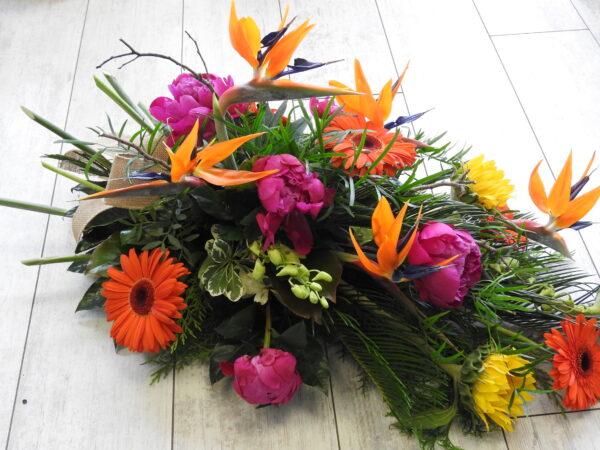 funeral flowers sheaf