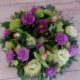 funeral flowers in pink