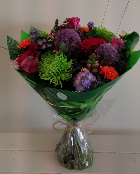 handtied flowers a choice selection
