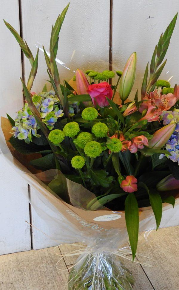 flowers limes & colour mix