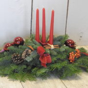 Christmas Noble Candle Display