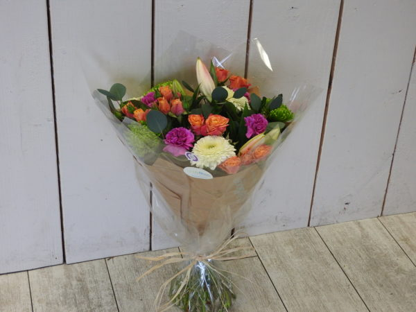 beautiful flowers handtied