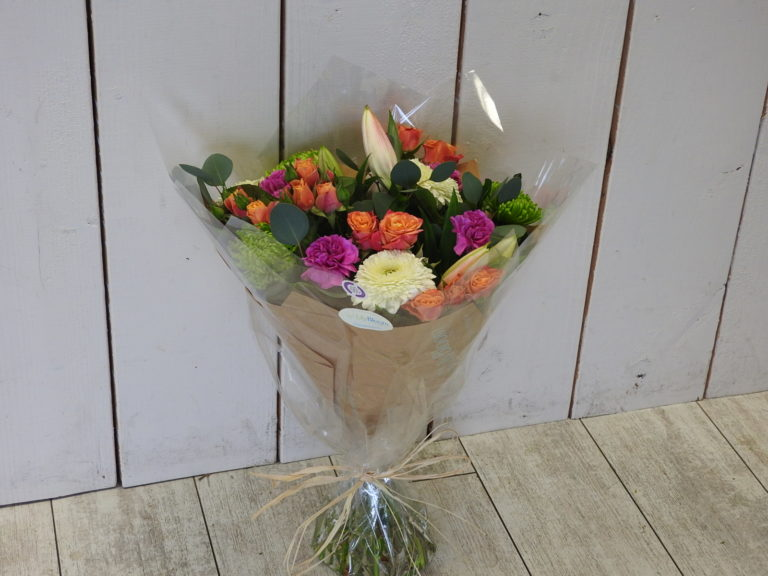 beautiful flowers handtied